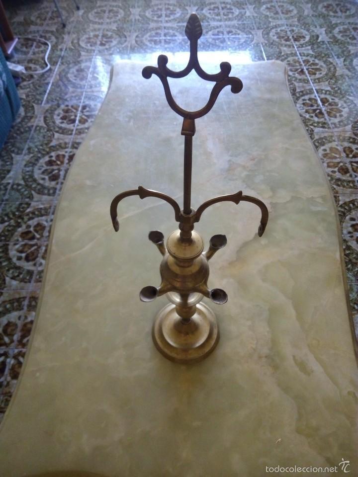 ANTIGUO . VELON QUINQUE LAMPARA . MUY ANTIGUO . VERRR (Antigüedades - Iluminación - Lámparas Antiguas)