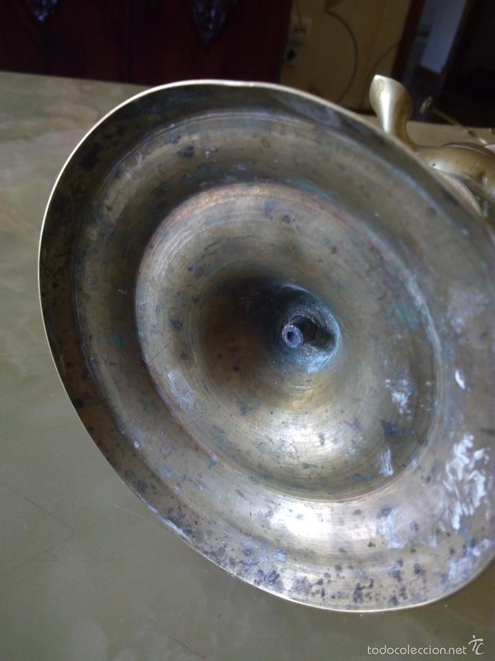 Antigüedades: ANTIGUO . VELON QUINQUE LAMPARA . MUY ANTIGUO . VERRR - Foto 5 - 57818729