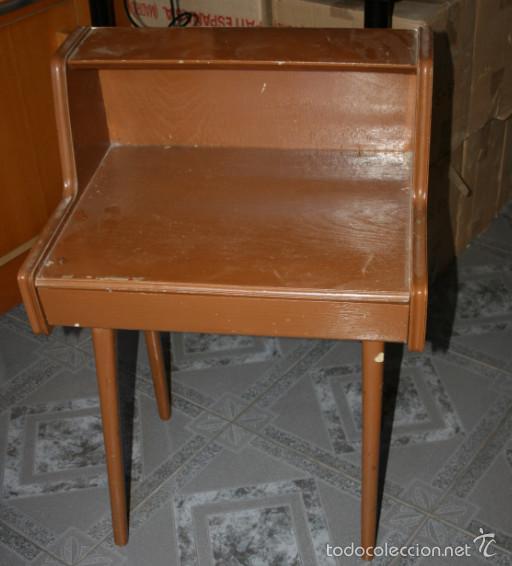 antiguo escritorio de madera para niños - Comprar Camas Antiguas en ...