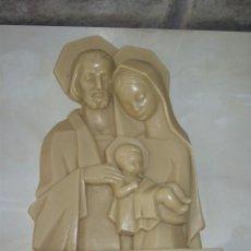 Antigüedades: IMAGEN DE LA VIRGEN PARA COLGAR,RESINA.. Lote 57827184
