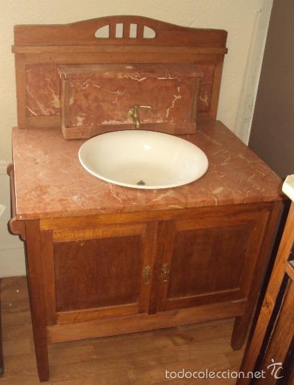 Antigüedades: Lavabo de principios del Siglo XX - Foto 3 - 57827617