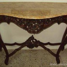 Antigüedades: CONSOLA ENTRADA ISABELINA SIGLO XIX. Lote 58968435