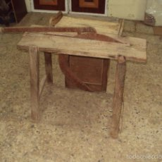 Antigüedades: MESA PARA CORTAR ALFALCE. Lote 57828664