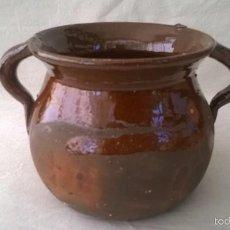 Antigüedades: OLLETA - OLLA DE BARRO - PUCHERO. Lote 57832089