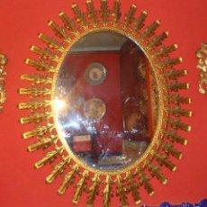Antigüedades: GRAN ESPEJO SOL. Lote 57840822