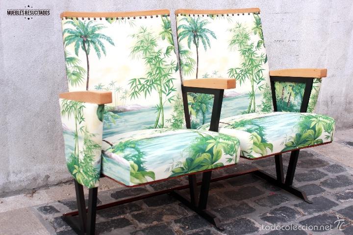 Butacas de cine teatro vintage restauradas comprar - Muebles restaurados online ...