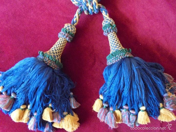Antigüedades: Gran recoge cortinas de cordón - Foto 3 - 57841076