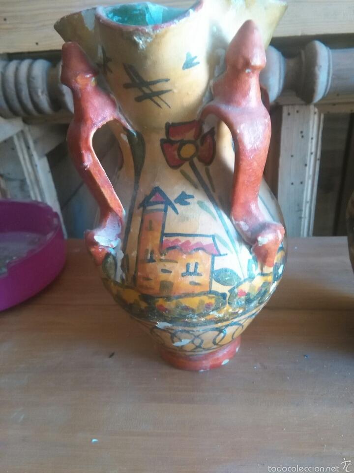 Antigüedades: Pareja de jarras antiguas de andujar - Foto 3 - 57850154