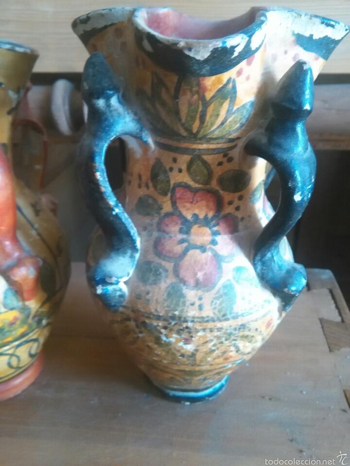 Antigüedades: Pareja de jarras antiguas de andujar - Foto 6 - 57850154