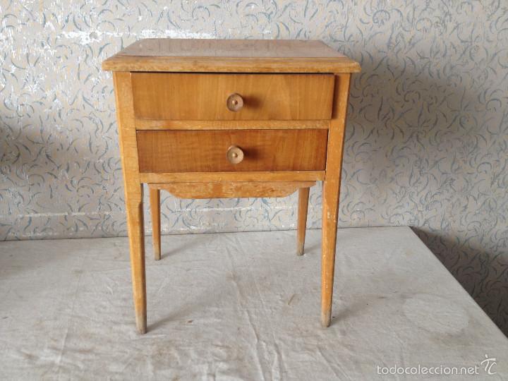 Mesita de noche remus francisco cervera rey f comprar mesas antiguas en todocoleccion 57852326 - Muebles antiguos valencia ...