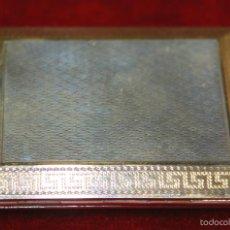 Antigüedades: PASTILLERO-CERILLERO. PLATA DE LEY. ASPREY CO LTD. LONDRES. INGLATERRA. 1922.. Lote 57865959