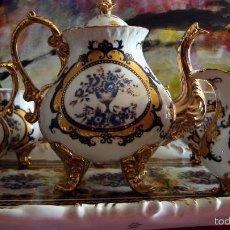Antigüedades: JUEGO DE TÉ DE SEVRES. Lote 57871858