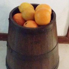 Antigüedades: MESURA-MEDIDA DE GRANO, AÑO 1900. CELEMIN-CUARTERA-FANEGA. Lote 57886975