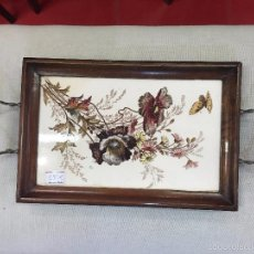 Antigüedades: BANDEJA MADERA. Lote 57890045