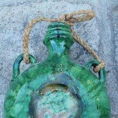 Antigüedades: CANTIMPLORA ESMALTADA FIRMADA POR TITO. ÚBEDA.. Lote 57906514