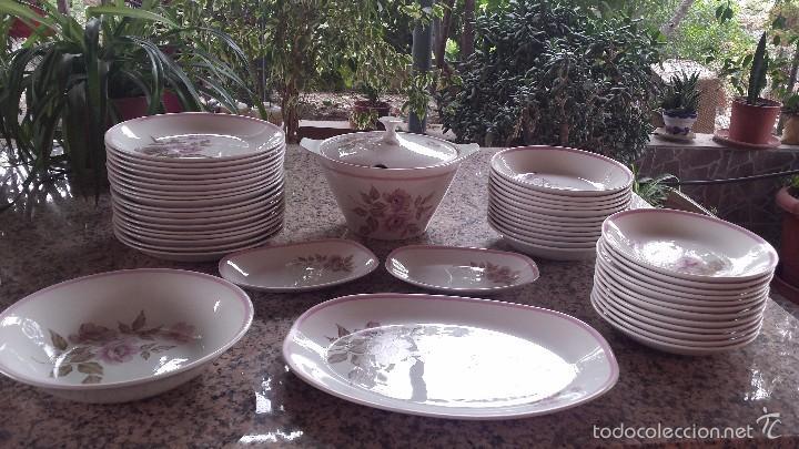 ANTIGUA VAJILLA PORZELANIT (Antigüedades - Porcelanas y Cerámicas - Otras)