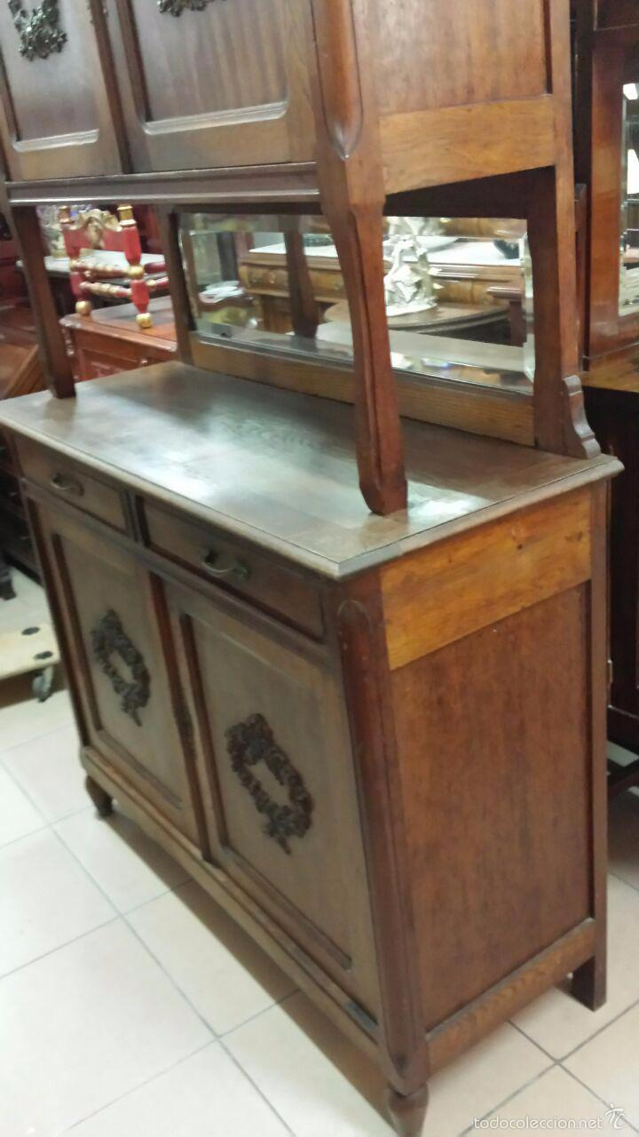 Armario Antiguo Pintado ~ alacena aparador de cocina antiguo Comprar Aparadores Antiguos en todocoleccion 57916784