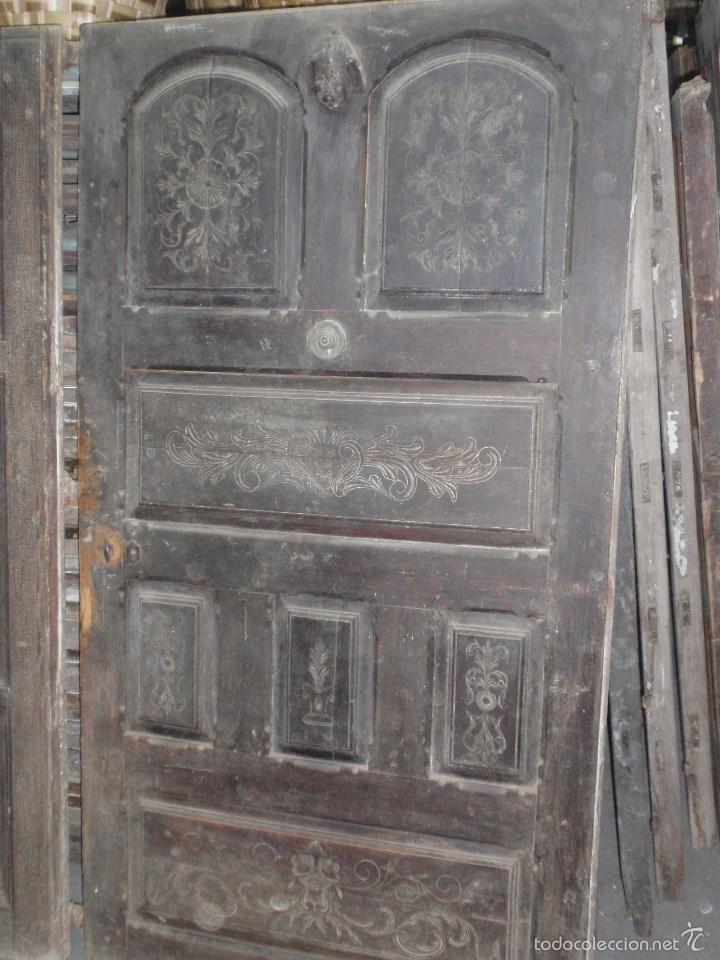 2 puertas antiguas talladas de 180 x 100 cm b comprar