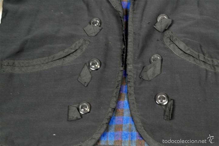 Antigüedades: Chaqueta y calzón de seda - Foto 5 - 57920073