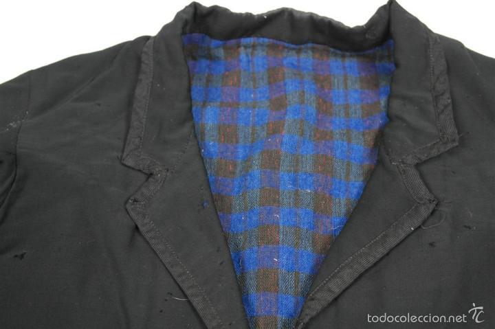 Antigüedades: Chaqueta y calzón de seda - Foto 6 - 57920073