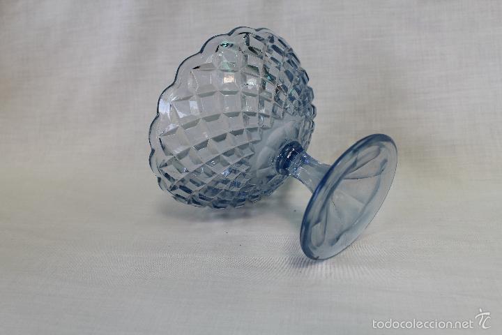 Antigüedades: frutero antiguo en cristal de santa lucia - cartagena - Foto 2 - 57924981