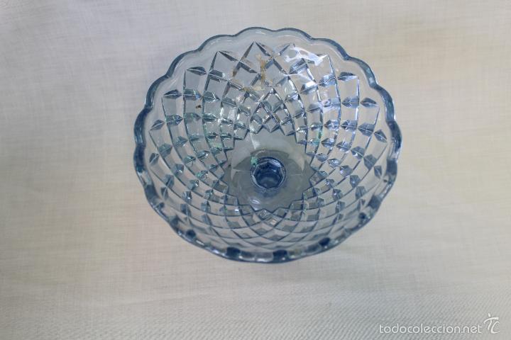 Antigüedades: frutero antiguo en cristal de santa lucia - cartagena - Foto 3 - 57924981