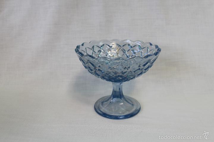 Antigüedades: frutero antiguo en cristal de santa lucia - cartagena - Foto 4 - 57924981
