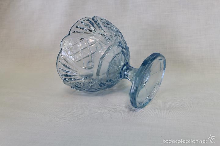 Antigüedades: frutero antiguo en cristal de santa lucia - cartagena - Foto 3 - 57925245
