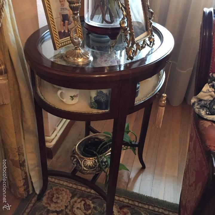 Mesa vitrina estilo regencia siglo xx comprar vitrinas - Muebles siglo xxi ...