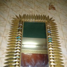 Antigüedades: ESPEJO SOL RECTANGULAR. Lote 57930410