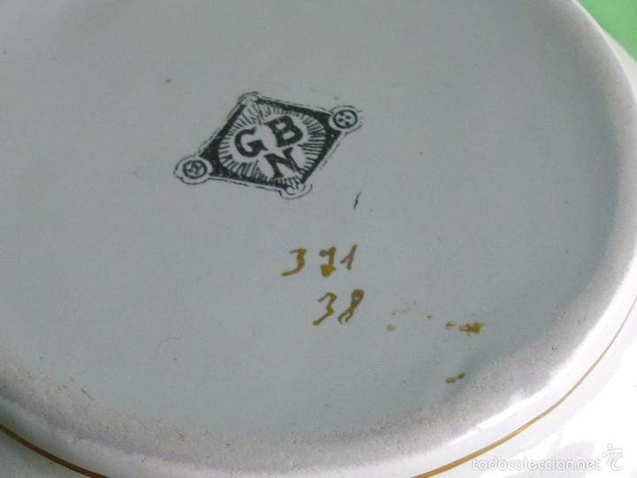 Antigüedades: BELLA JARRA GBN BAVARIA ALEMANIA JUGENDSTIL METAL ESMALTADO PINTADO A MANO PRINCIPIOS XX ART DECO - Foto 6 - 57935009