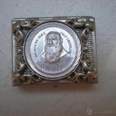 Antigüedades: ANTIGUA CAJA DE FRAY LEOPOLDO. Lote 44756313
