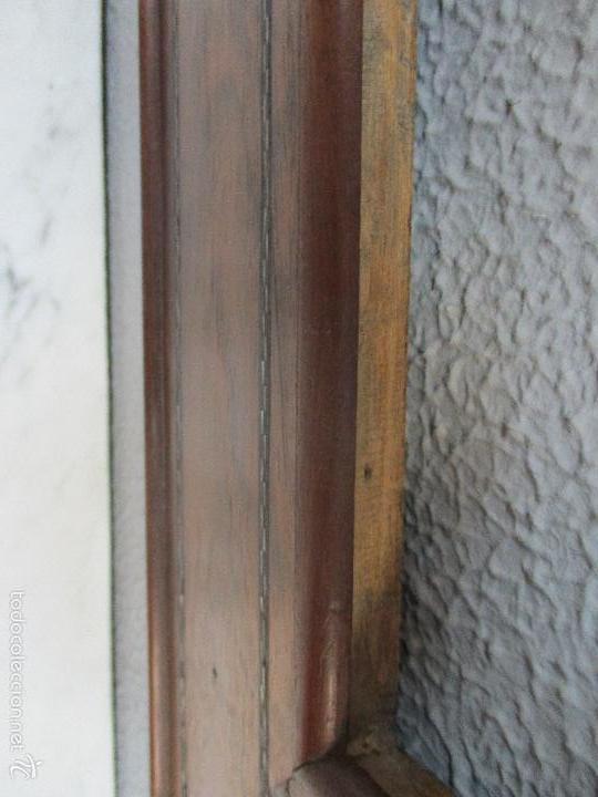 Antigüedades: Antiguo Marco - Isabelino - madera de jacarandá - para óleo, espejo - S. XIX - Foto 8 - 57949794
