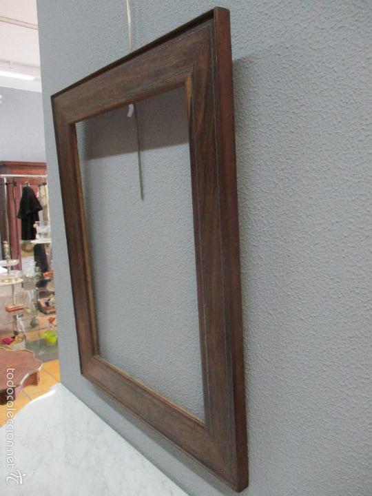 Antigüedades: Antiguo Marco - Isabelino - madera de jacarandá - para óleo, espejo - S. XIX - Foto 9 - 57949794