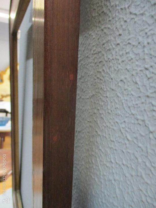 Antigüedades: Antiguo Marco - Isabelino - madera de jacarandá - para óleo, espejo - S. XIX - Foto 10 - 57949794