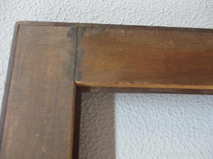 Antigüedades: Antiguo Marco - Isabelino - madera de jacarandá - para óleo, espejo - S. XIX - Foto 12 - 57949794