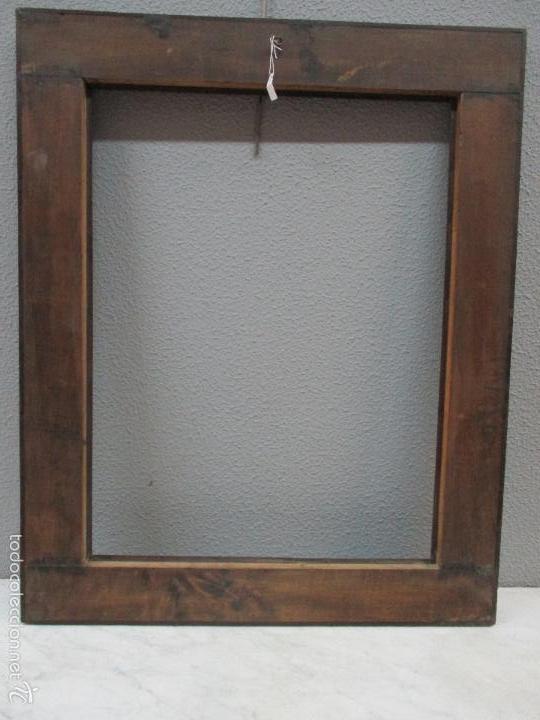 Antigüedades: Antiguo Marco - Isabelino - madera de jacarandá - para óleo, espejo - S. XIX - Foto 13 - 57949794