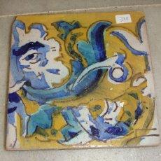 Antigüedades: AZULEJO DE MANISES. S.XIX.. Lote 57950555