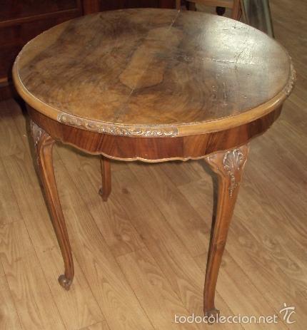 mesa comedor restaurada nogal - Comprar Muebles Auxiliares Antiguos ...