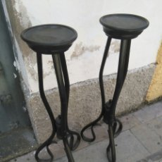 Antigüedades: PAREJA DE PEDESTALES DE THONET. Lote 57952269