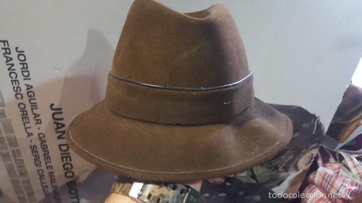 SOMBRERO HATTERS (Antigüedades - Moda - Sombreros Antiguos)