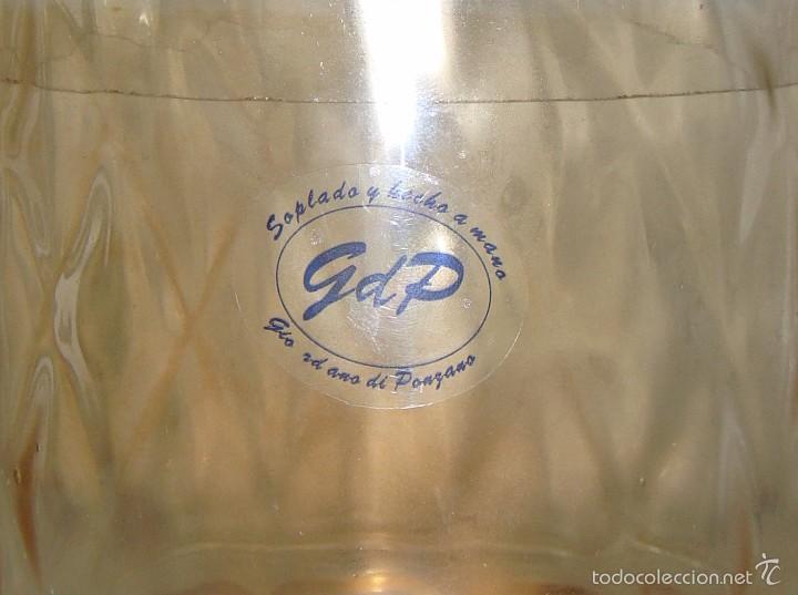 Antigüedades: Bombonera de Cristal Soplado y Hecho a Mano. GdP - Foto 2 - 57958797