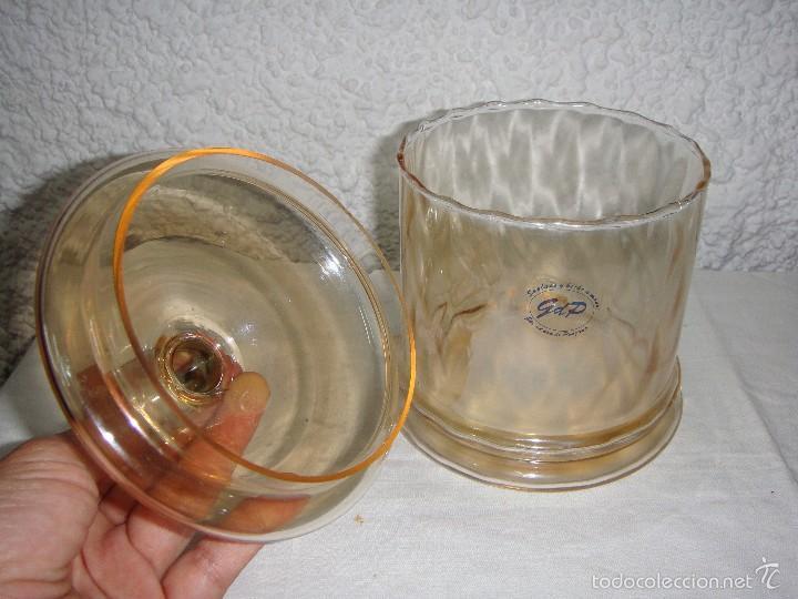 Antigüedades: Bombonera de Cristal Soplado y Hecho a Mano. GdP - Foto 3 - 57958797