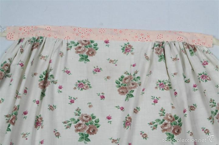 Antigüedades: Delantal de algodón - Foto 2 - 57968859