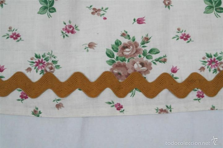 Antigüedades: Delantal de algodón - Foto 3 - 57968859