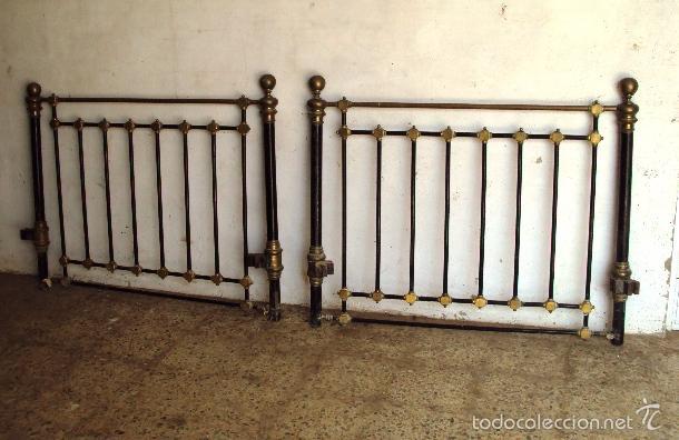 Cama de lat n y hierro comprar camas antiguas en - Camas antiguas de hierro ...
