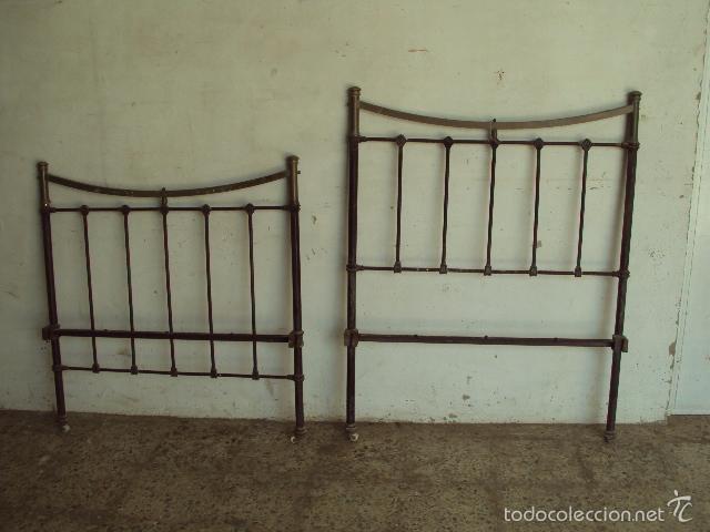 Cama antigua de laton y hierro comprar camas antiguas en - Camas antiguas de hierro ...