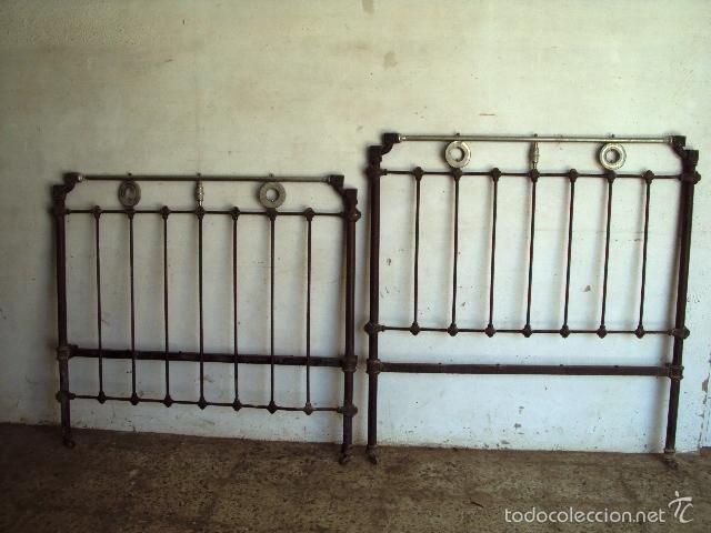 Cama de hierro y metal comprar camas antiguas en - Camas antiguas de hierro ...
