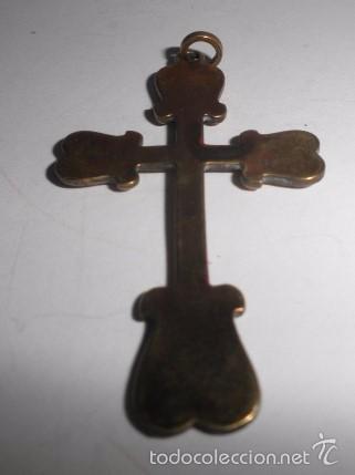 Antigüedades: Crucifijo en bronce - Foto 3 - 57977271