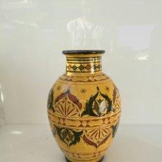 Antigüedades: BONITO JARRON ARABE SAFI - FIRMADO - 38 CM ALTURA. Lote 57979304